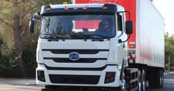 BYD livre un 100e camion électrique à batterie aux États-Unis